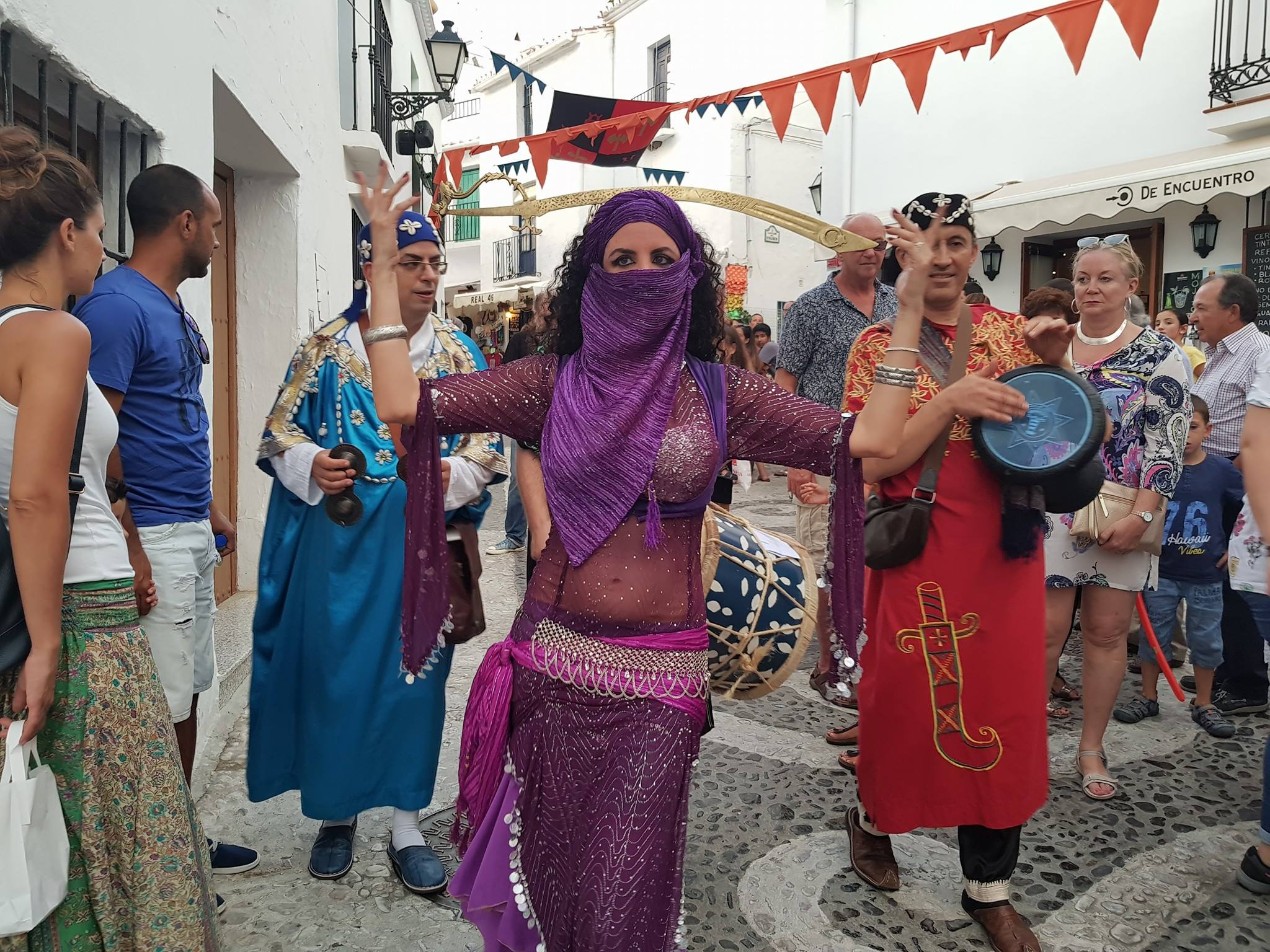 Events Festivals Fiestas Carnivals in Frigiliana