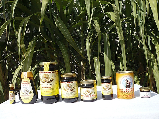 The end product Sugar Cane Honey