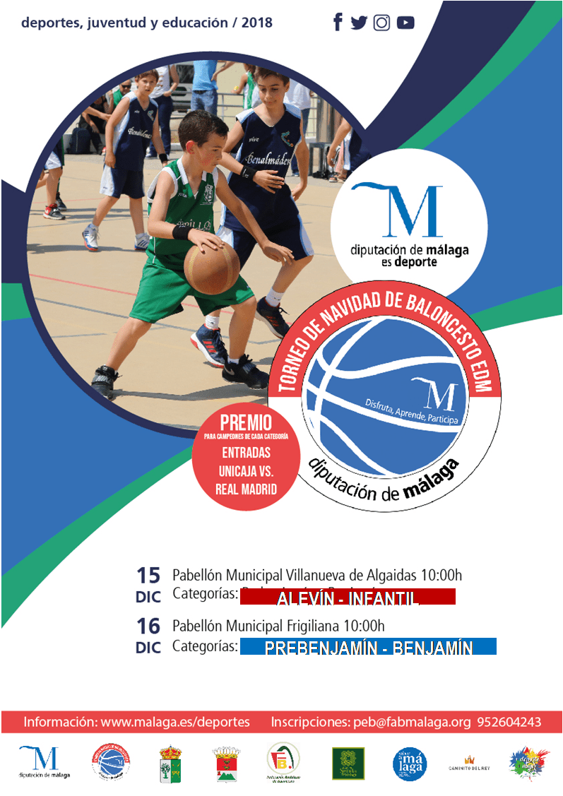 Christmas tournament on Sunday the 16th in Frigiliana