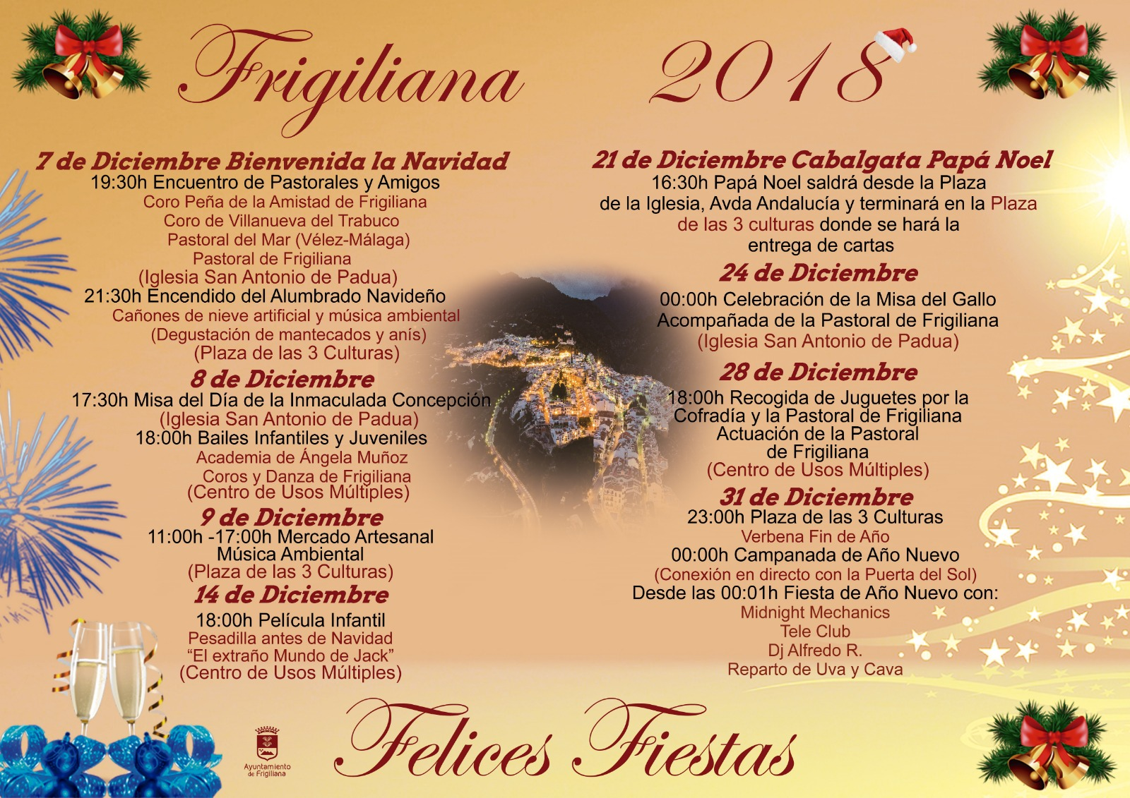 Christmas program in Frigiliana