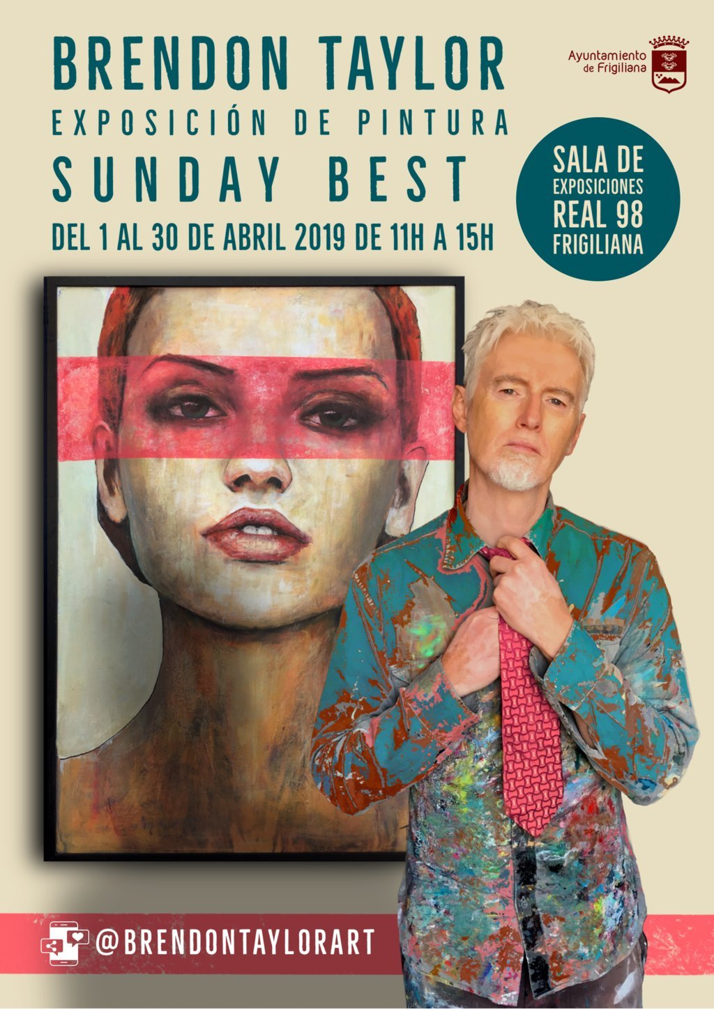 Exhibition 'Sunday Best' by Brendon Taylor in the Real 98 room