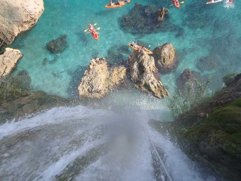 Maro Waterfall from above