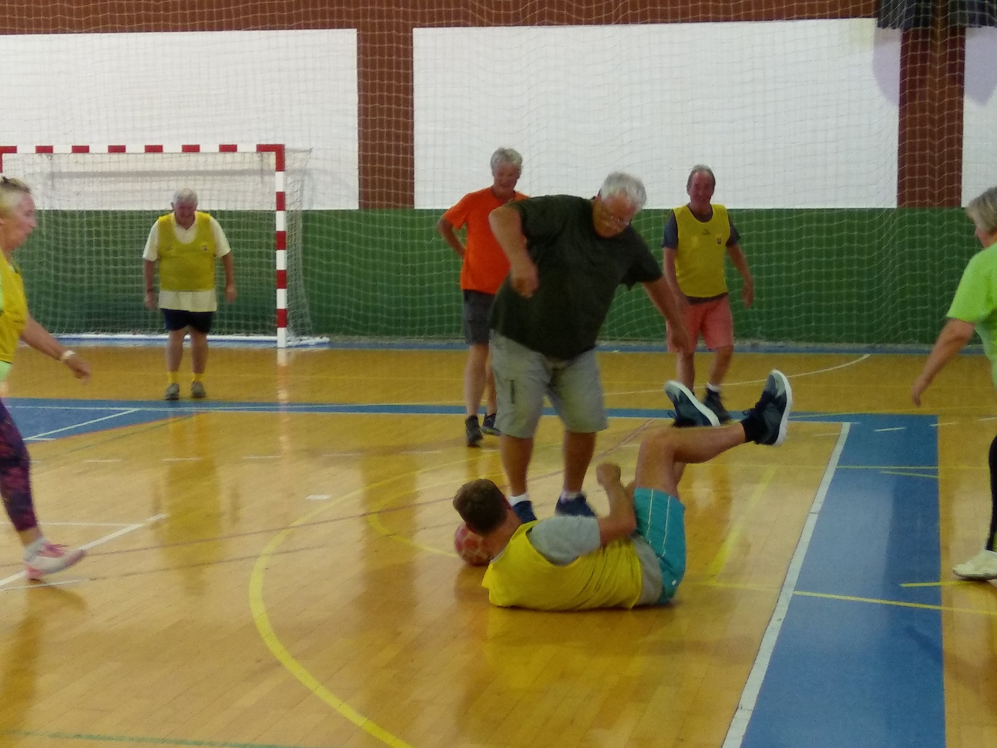 Walking Football ???? The Oldies can still get the boot in