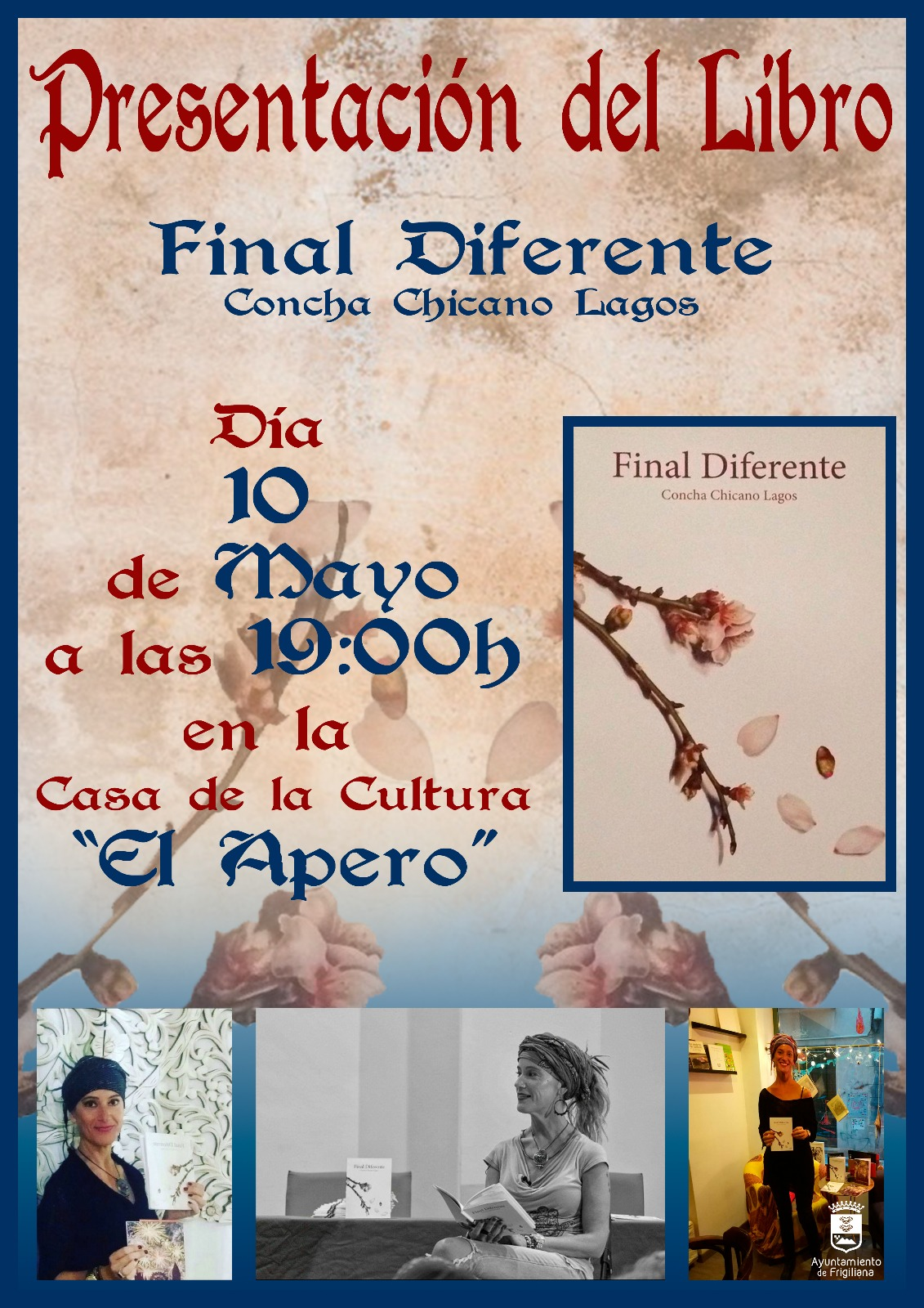 Presentation of the book 'Final Diferente' by Concha Chicano Lagos