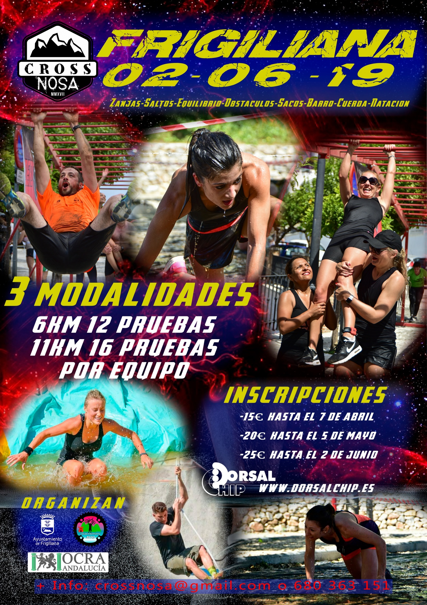 Third edition of the Crossnosa