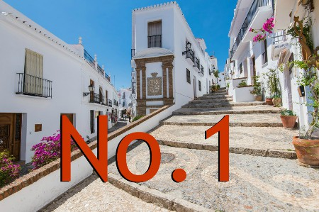 Vote for Frigiliana as the prettiest town in Spain
