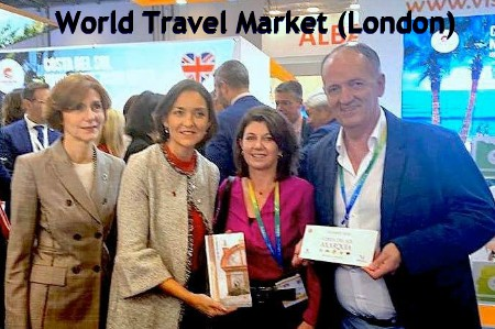 Frigiliana participates in the World Travel Market in London