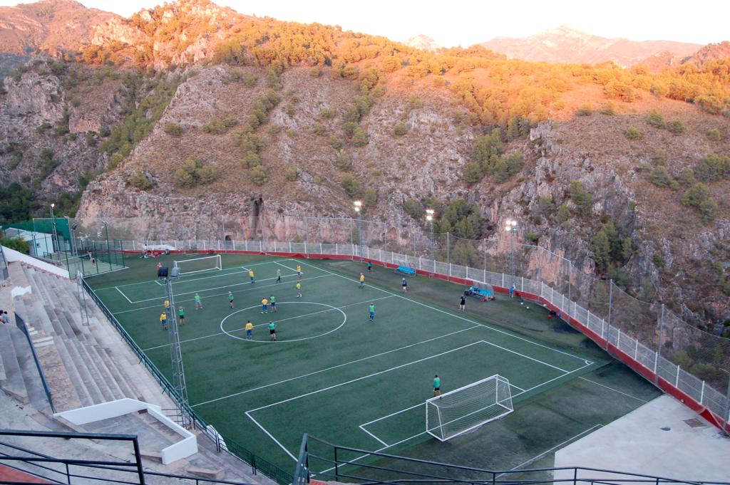 Walking Football here in Frigiliana