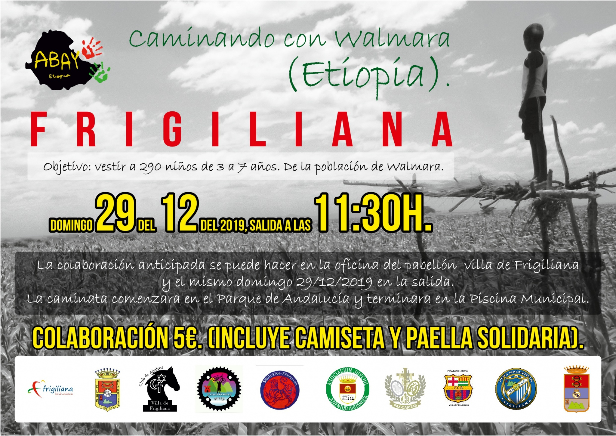 Frigiliana Walk.. help the children of Walmara.