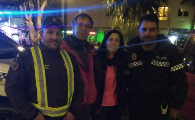 Belgian hikers lost themselves in the Sierra de Frigiliana